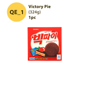 [SG Local Fast Delivery] ◆ Victory Pie (324g)  ◆ korea authentic snack / honey butter chip almond
