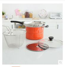Almighty pot stainless steel steamer pot milk pot frying pan lo mein noodles pan pot 62346