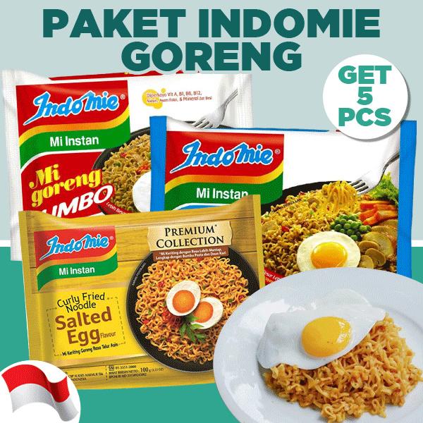Promo Paket 5 Pcs Indomie Salted Egg dan Indomie All Variant Deals for only Rp26.500 instead of Rp26.500