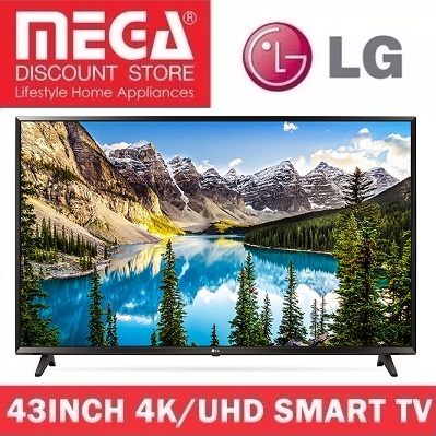 LG 43UJ632T 43INCH UHD SMART LED TV / NO FREE GIFT / LOCAL WARRANTY Deals for only S$1188 instead of S$0