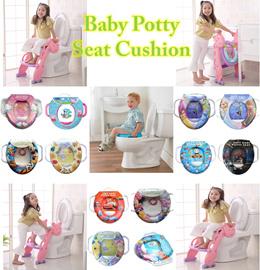 ❤ Baby Potty Toilet Training Soft Padded Cushion Seat ❤ Kids Pedestal Pan Pony Spiderman Hello Kitty