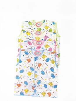 [4 Pcs] Luvita Baju Kutung Motif - Newborn