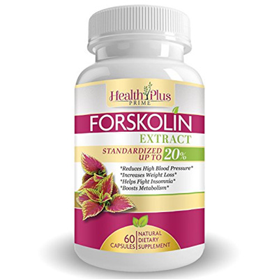 Health Plus Prime Forskolin Extract Weight Loss Supplement Ultra Pure Active Coleus Forskohlii Powd