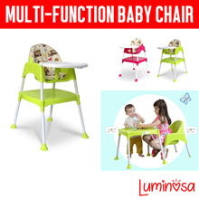 ⏰⚡ 2019 Baby High Chair ★ FREE QXPRESS DELIVERY ★ 2 in 1 ★ Table and Chair ★ Save Space ★