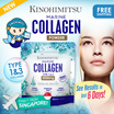 Kinohimitsu Marine Collagen Powder 5000mg - With Collagen Type 1  and 3 - Kulit Cantik + Baik Joint
