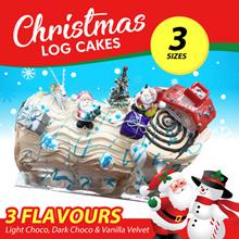CHRISTMAS LOG-CAKES-0.55KG/1.0KG/1.3KG