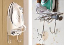 Heavy Duty Wall Mounted Hotel Style Iron and Iron Board Holder/Laundry Room Organizer