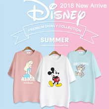 [RETNO X HOWRU] 💖Disney Authentic💖 18SS High Quality Premium T-shirt + Long T-shirt 42 Types