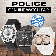 SUPER HOT PROMO Only at Qoo10!  GENUINE POLICE WATCH FAIR 100% ORIGINAL 08a1d959bc