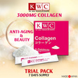[★ KWC Official ★] Made in JAPAN !! Collagen 7 days Trial Pack ❤ Anti-Aging and Beauty