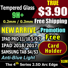 Tempered Glass Screen Protector  for IPad air IPad Pro 11/10.1/9.7 IPad 2017/2018 Samsung S4