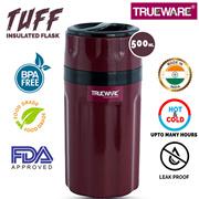 Trueware Tuff Flask 500 Ml, Maroon