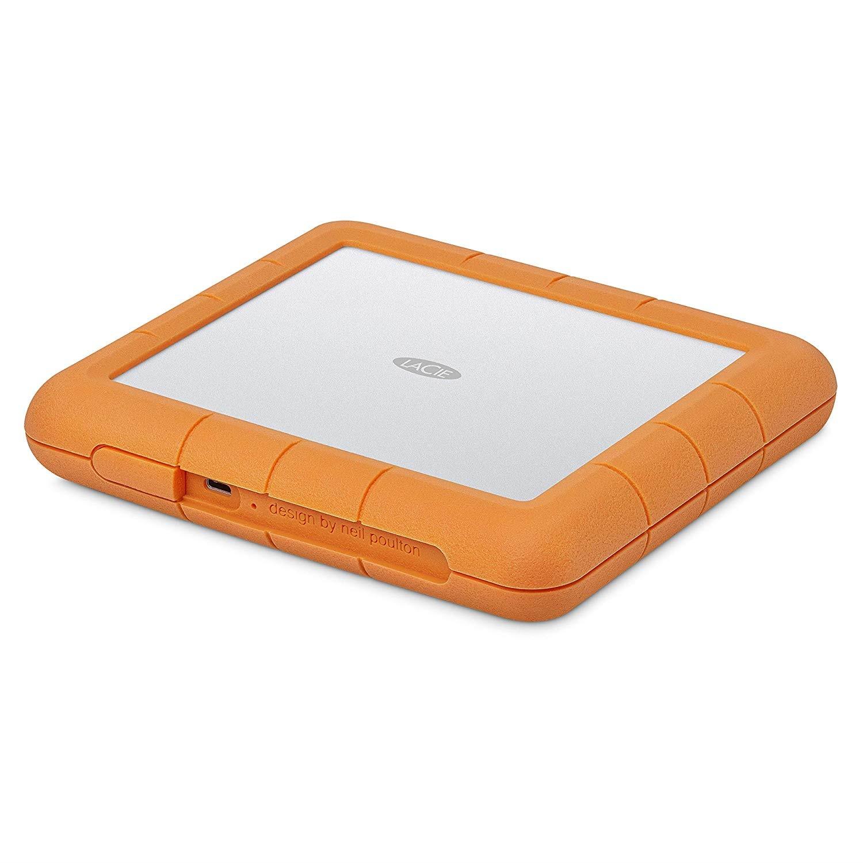 LaCie Rugged Mini LAC9000298 2 TB Portable External Hard Drive