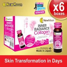 [2 MONTH SUPPLIES] New Moon Inner Radiance Collagen drink 60 Bottles x 50ml