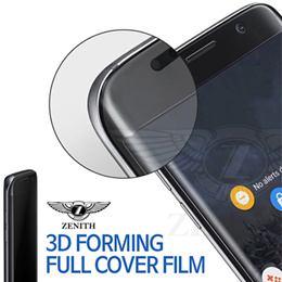 Zenith 3D Forming Full Cover Urethane Screen Protector★Galaxy S7/Edge/S6 Edge/iPhone7/Plus