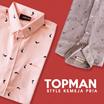Kemeja Pria - TOPMAN Styles - Banyak Warna dan Motif - PREMIUM QUALITY Made in Thailand