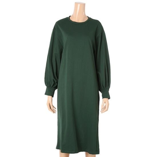 パパイヤ・バルーン小売ボックスワンピースCNHROP005D 面ワンピース/ 韓国ファッション