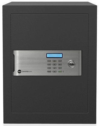 [S$590.00](▼14%)[Yale]YSM/400/EG1 - Yale Certified Office Digital Safe Box (Medium)- GREY