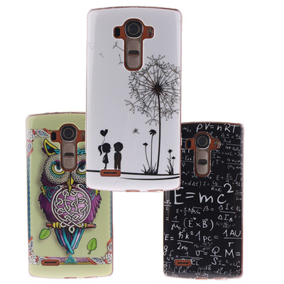 4eebdc44210 Qoo10 - For Funda LG G4 G3 G2 Case Cute Owl Silicone Cover for Coque ...