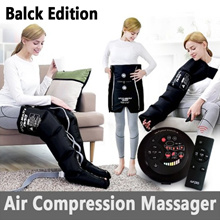 [BLACK EDITION] Multi5 Air Compression Massager / Leg + Feet + Calf Therapy Massager Compression