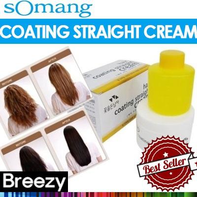 Breezy Somang Hair Coating Straight Cream Magic Self Straightener
