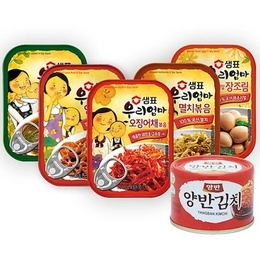 [SEMPIO] SIDE DISH KOREAN food KIMCHI SWEET CORN Can / canned goods