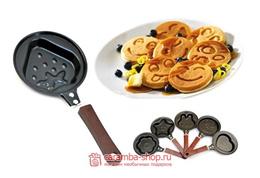 Teflon Mini Frying Pan Fry Karakter Penggorengan 14cm
