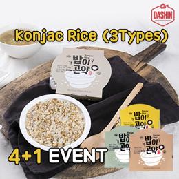 ★NEW★Launching Event★Whole Grain and Konjac Rice 5packs # DASHIN KONJAC RICE  # 3 Flavors/kfood