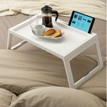 IKEA Ikea KLIPSK Bed tray /  White Foldable Bed Tray Laptop Table For Tablet iPhone iPad