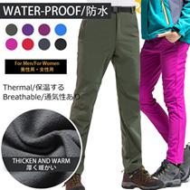 ◆Outdoor pants for man and woman ◆waterproof and windproof/ winter pants/Keep warm / fleece