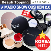 [APRILSKIN] ★ Magic Snow Cushion 2.0 ★ April Skin All Item Collection [Beauti Topping]