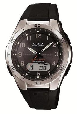 [カシオ]Casio 腕時計 WAVECEPTOR 世界6局電波対応ソーラーウォッチ アナデジコンビモデル WVA-M640-1A2JF メンズ