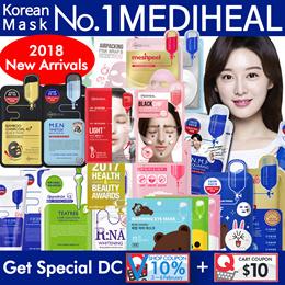 [Mediheal] Face Mask/Korea Mask Sheet 10pcs