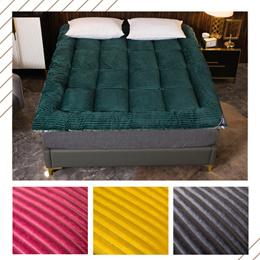 床垫子加厚双人1.8m床褥1.5米单人学生宿舍1.2米榻榻米可折叠软垫