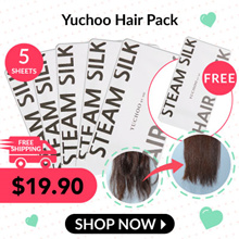 Yuchoo Bundle of 6! ◤SOFT+SMOOTH RESULTS⇒TANGLE-FREE◢☆ NEW IMPROVED YUCHOO STEAM HAIR PACK!