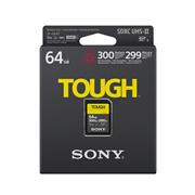 Sony SF-G64T TOUGH High Performance 64GB/128GB SDXC UHS-II Class10 4K U3 Memory Card