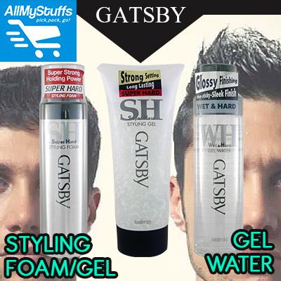 Hair Styling Foam Interesting Qoo10  【Gatsby】Hair Styling Foam ○ Styling Gel ○ Gel Water .