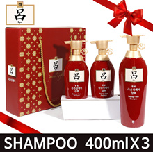 ★ [GIFT SET]★KOR NO.1 Shampoo★/ 400ml*3ea/ Limited Eddition Set / gift set / EXP:AUG.2020