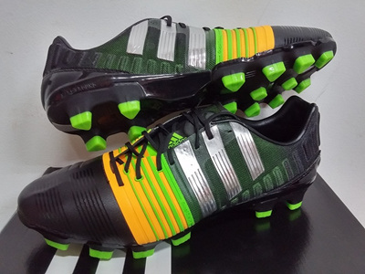 ADIDAS NITROCHARGE 1.0 HG HARD GROUND FOOTBALL SOCCER BOOTS CLEATS SHOES  735 1st GRADE b41650dc86312