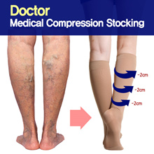 Made in USA-Medical Compression Stockings SOCKS/leg swelling/SKNEE HIGH STOCKINGS For men+women
