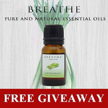 FREE GIVEAWAY!! BREATHE essence of life - Lemongrass 5ml