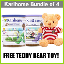 [Bundle of 4] [KARIHOME] 900g Goat Milk Powder ★ From New Zealand ★ for Kids 12m+ or 3yo+