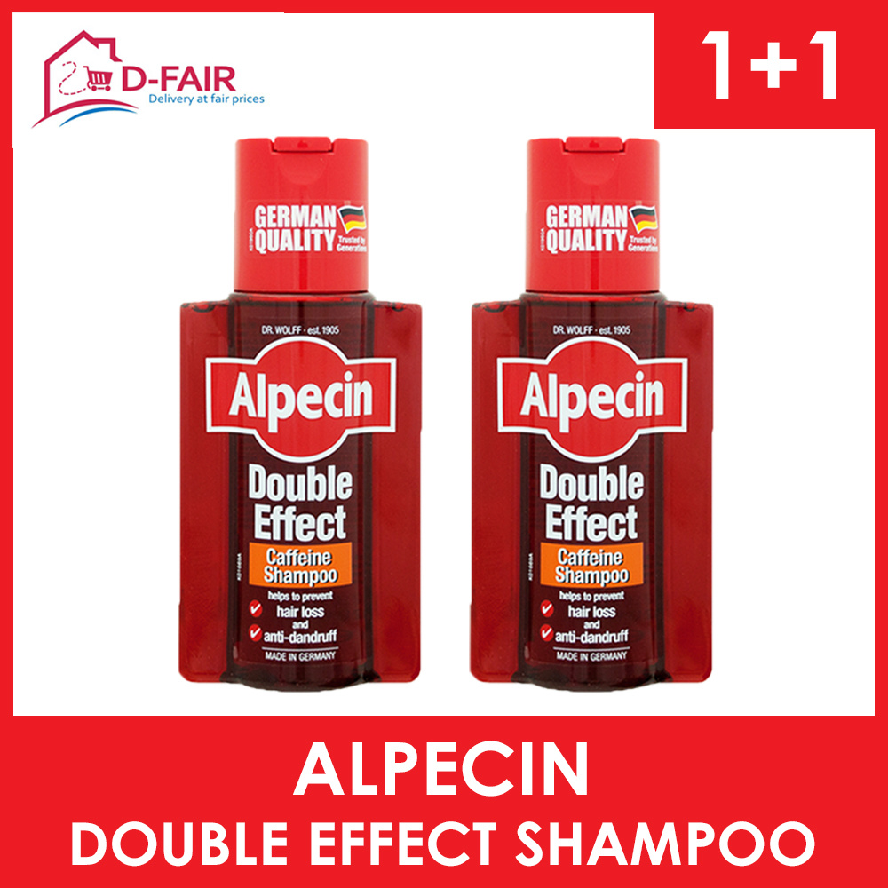 Qoo10 Alpecin Double Effec Hair Care C1 Caffeine Shampoo Loss Fit To Viewer