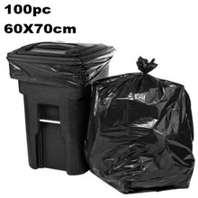 100pc 60x70cm Trash Bag Wholesales Supply Price