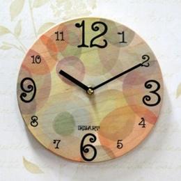 ★Modern BIRCH Wall Clock AZP-136★ Made in Korea / gift watch home design deco wedding marriage Birthday present H