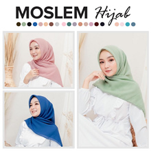 Moslem Hijab Outfit Bella Square Polly Cotton Premium_Veil Moslem Fashion