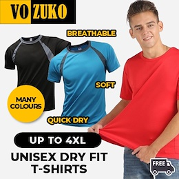 [Limited Time Offer] | Free Shipping | Flash Deal | Dry Fit T shirt polo Unisex for sport jogging outdoor | Many Colours available