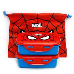 Spider man 2tier lunch box / Kids lunch box