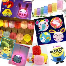 Lanterns / Mid Autumn | Mooncake Festival / Children / Paper / Non Woven / Cartoon [NEW Designs]