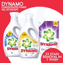 [PnG] DYNAMO CONCENTRATED POWER GEL DETERGENT - Gives you 2x Stain Removal in 1 Wash